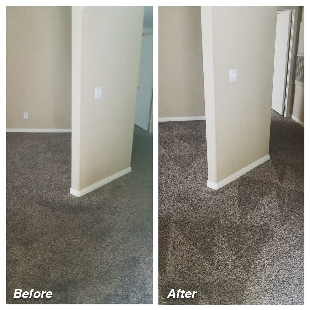 Dial Carpet Cleaning - Before and After - Carpet