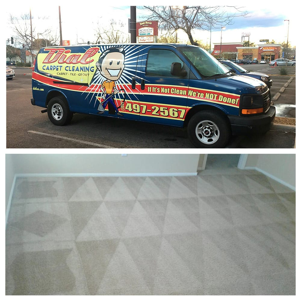 Dial Carpet Cleaning - Carpet Cleaning Van